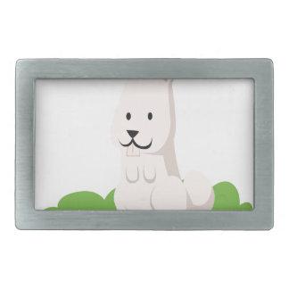 cute rabbit animal belt buckles