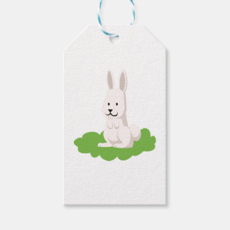 cute rabbit animal gift tags