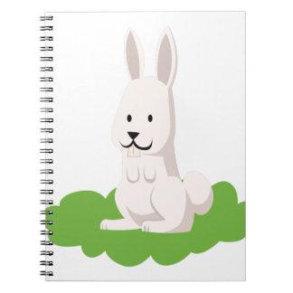 cute rabbit animal notebook