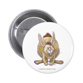Cute Rabbit Animal Parade 2 Inch Round Button
