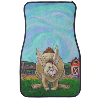 Cute Rabbit Animal Parade Car Mat