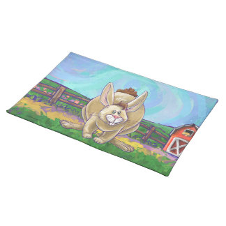 Cute Rabbit Animal Parade Placemat