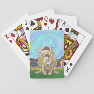 Cute Rabbit Animal Parade Playing Cards