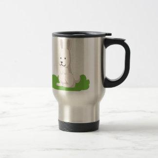 cute rabbit animal travel mug