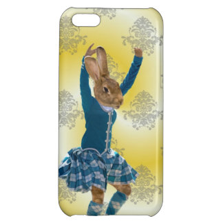 Cute rabbit dancing cover for iPhone 5C