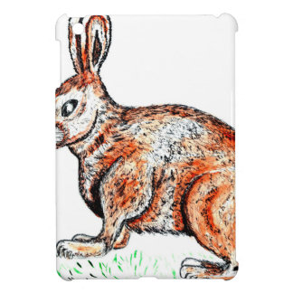 Cute Rabbit Drawing iPad Mini Cases