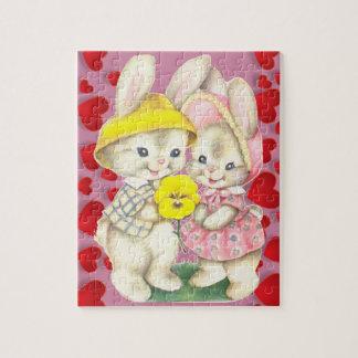 Cute rabbits jigsaw puzzle