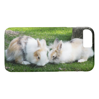 Cute Rabbits on Grass iPhone 8/7 Case