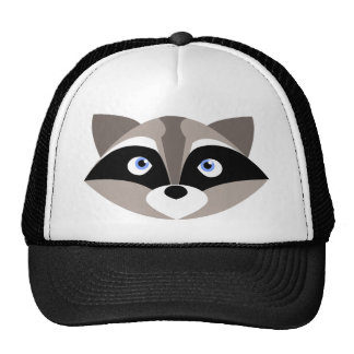 Cute Raccoon Face Trucker Hat