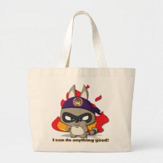 Cute Raccoon Funny Cartoon Character Kawaii Bag