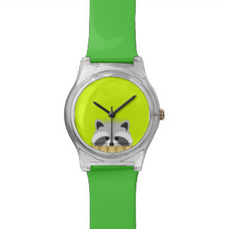 Cute Raccoon Watch