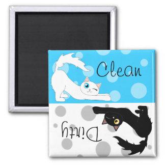 Cute Ragdoll Cats Clean Dirty Dishwasher Magnet