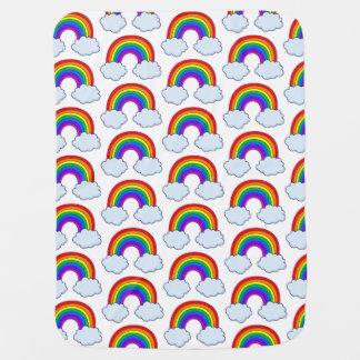 Cute Rainbow Baby Blanket