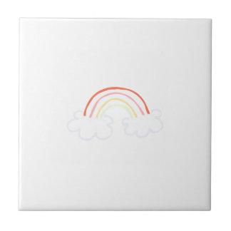 Cute Rainbow Ceramic Tiles