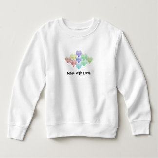 Cute Rainbow Hearts Sweatshirt