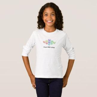 Cute Rainbow Hearts T-Shirt