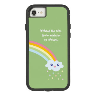 Cute Rainbow Inspirational and Motivational Quote Case-Mate Tough Extreme iPhone 8/7 Case