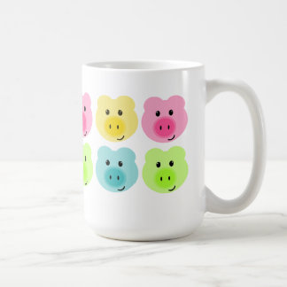 Cute Rainbow Pig Pattern Mug
