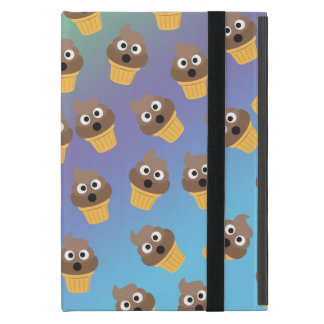 Cute Rainbow Poop Emoji Ice Cream Cone Pattern Case For iPad Mini