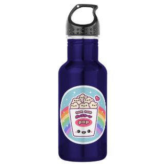 Cute Rainbow Popcorn 532 Ml Water Bottle