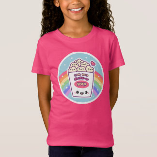 Cute Rainbow Popcorn T-Shirt