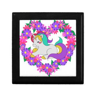 cute rainbow unicorn gift box