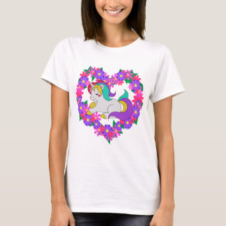 cute rainbow unicorn T-Shirt