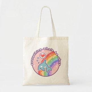 Cute Rainbow Whale