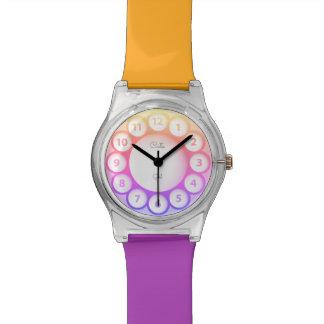 Cute rainbow Wrist Watches