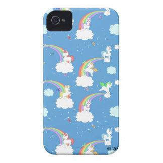 Cute Rainbows and Unicorns Case-Mate iPhone 4 Cases