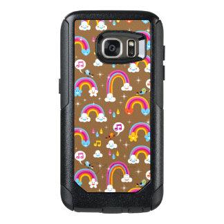 cute rainbows pattern OtterBox samsung galaxy s7 case