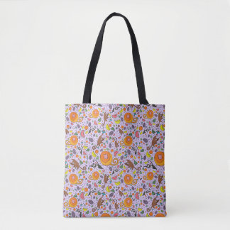 Cute Rainforest Tote Bag