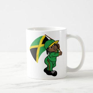 Cute rasta boy mug