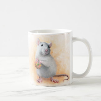 Cute rat coffee mug