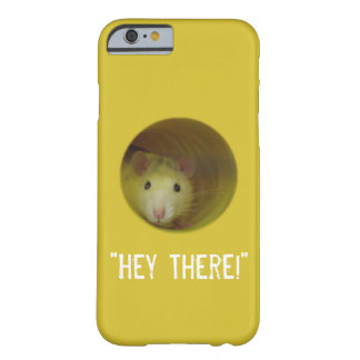 Cute Rat in Hole Funny Animal Barely There iPhone 6 Case