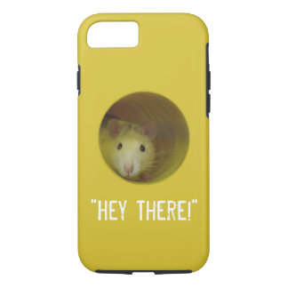 Cute Rat in Hole Funny Animal iPhone 8/7 Case