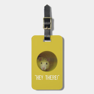Cute Rat in Hole Funny Animal Luggage Tag