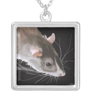Cute Rat Necklace