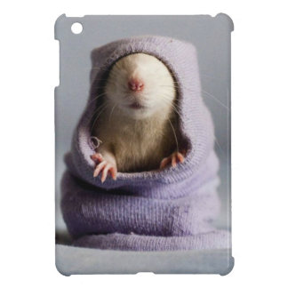 cute rat peek a boo cover for the iPad mini