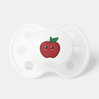 Cute Red Apple Pacifier
