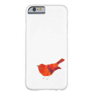 Cute Red Bird Barely There iPhone 6 Case