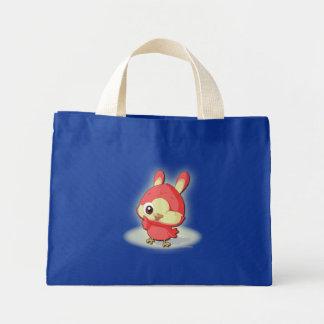 Cute Red Bird Funny Cartoon Character Kawaii Bag
