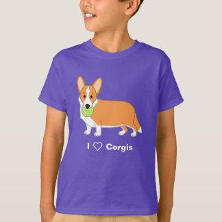 Cute Red Cardigan Welsh Corgi Dog Lovers T-Shirt