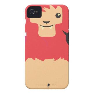 cute red cow design iPhone 4 Case-Mate case