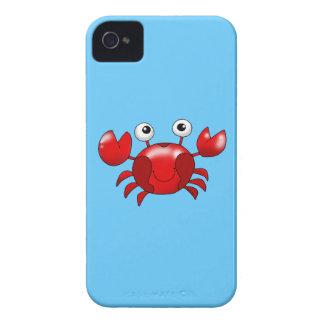 Cute red crab Case-Mate iPhone 4 case