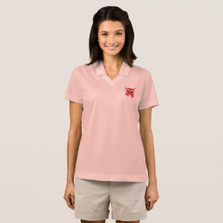Cute Red Crustacean Polo Shirt