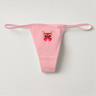 Cute Red Crustacean Underwear