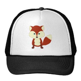 Cute Red Fox Trucker Hat