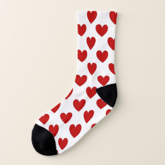 Cute Red Hearts Pattern 1