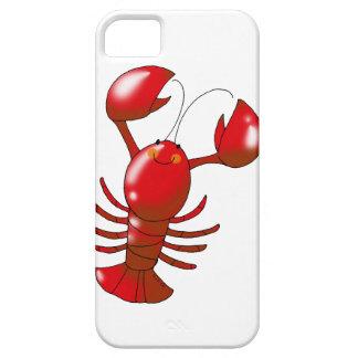 Cute red lobster iPhone 5 case